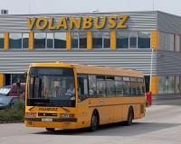 A megállóba Volánbusz érkezik a DAKK helyett