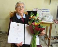 90 éves Asztalos Sándorné