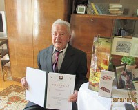 90 éves Gyovai Ferenc