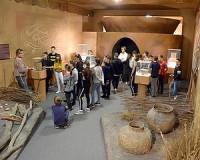 Iskolások a Tornyai-múzeumban
