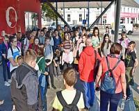 Erdélyi diákok Vásárhelyen