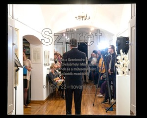 A Hódmezővásárhelyi Művésztelep művészei Szentendrén