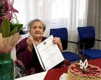 90 éves Fodor Sándorné