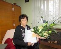 90 éves Keresztes Istvánné