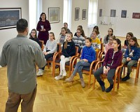 A múzeumi szakmákkal találkoztak a kisgimnazisták