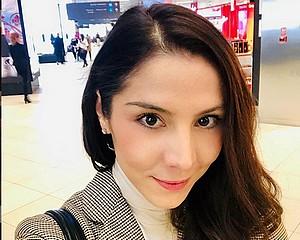 Vásárhelyi színésznő a vörös szőnyegen