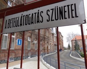 Látogatási tilalom az összes kórházban
