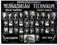 A Gregus Máté középiskola digitalizált tablói