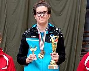 Gachályi Gréta országos egyéni bajnok lett