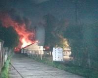 Asztalosműhely és raktár égett a Rárósi úton