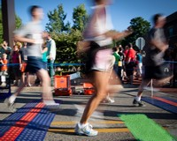 Futóverseny Hódmezővásárhely utcáin