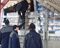 Hét palesztin a kamion rakterében
