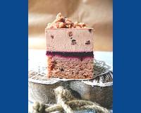Ennivaló receptjeink - Angélától - Ibolyás gesztenye torta szederrel