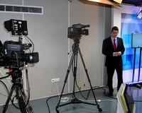 Szép és korszerű a Városi Televízió új stúdiója