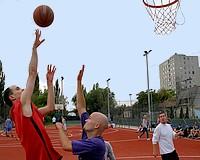 Streetball bajnokság volt Vásárhelyen