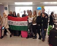 Megérkeztek Izlandra a vásárhelyi lányok