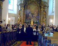 Négy kórus a Szentháromság Templomban