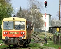 Taxi ütközött vonattal Szentesen
