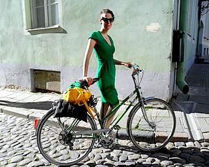 Kerékpározni Tallinban is jó