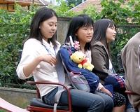 Hódmezővásárhely japán diákvendégei Székkutason